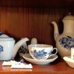 Et udvalg af Blå Blomst-porcelæn