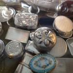Sølvpilledåser i mange udførelser.