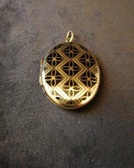 Medaljon af guld