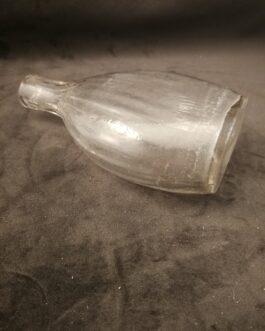 Flad pæreformet lommeflaske