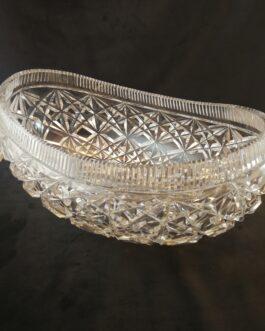 Oval glasskål