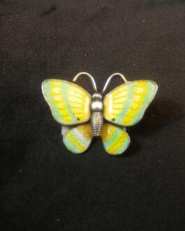 Broche i  form af sommerfugl