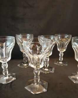 TILBUD Seks klare Lalaing-hvidvinsglas